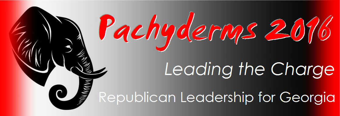 Logo of the Pachyderm Ticket for the Republican Leadership for Georgia.
